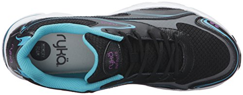 Ryka Blue Infinite Sneakers Women's Black xqxBYza