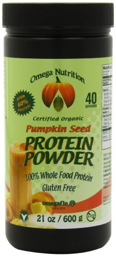 Omega Nutrition Pumpkin Seed Protein Powder, 21-Ounce (Pack of 3)