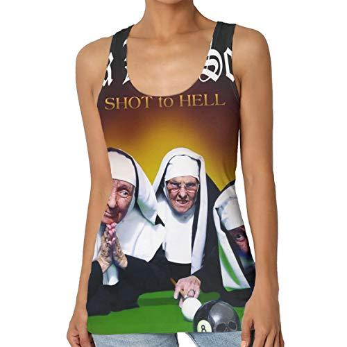 Black Label Society Womens Sexy Tank Custom Vest T-Shirt M (Black Label Society Jean Vest)