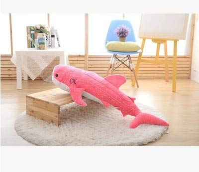 Plush Toys Big Fish 50/75/100Cm New Gray Red Shark Whale Doll Big Kawaii Stuffed Plush Animals Soft Toys for Children China New Must Haves Gift Ideas My Favourite Superhero Cupcake Toppers by TRAFSK