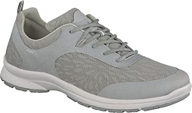 Allrounder by Mephisto Women's Dakona Fashion Sneakers, Grey, Mesh,  Synthetic, Rubber,