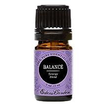 Balance Synergy Blend Essential Oil by Edens Garden (Geranium, Lavender and East Indian Sandalwood)- 5 ml