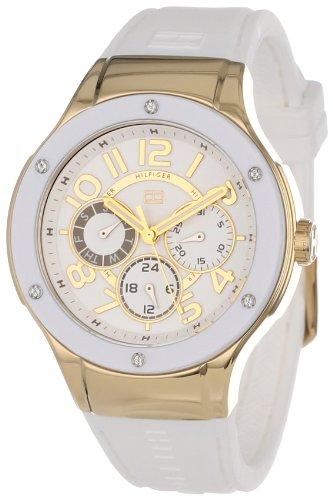 Tommy Hilfiger Women's 1781327 Sport Lux Multi-Eye Crystals on Bezel Watch