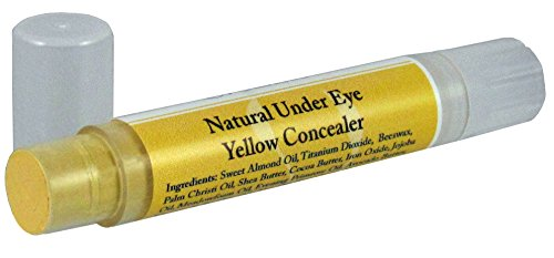 Concealer - Under Eye (Yellow) Natural Paraben Free - Non-Toxic - Travel Size