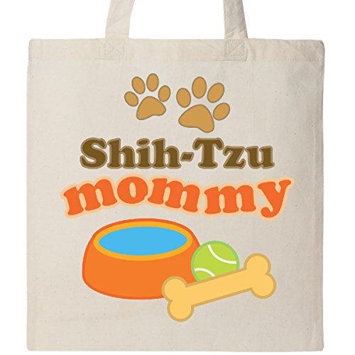 Shih Tzu Tote (Inktastic - Shih-Tzu Mommy Tote Bag Natural)