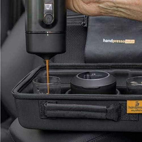 Handpresso Auto Set Capsule 48310 Set con cafetera espresso portátil para cápsulas para el coche 12V / 24V: Amazon.es: Hogar