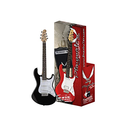 Dean Playmate Avalanche Guitar Package – Black