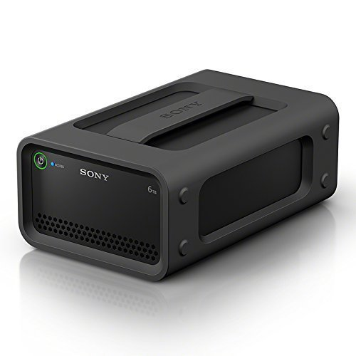 Sony PSZRA6T/BQ 6TB Ruggedized RAID: Thunderbolt 2, USB 3.0 , Black