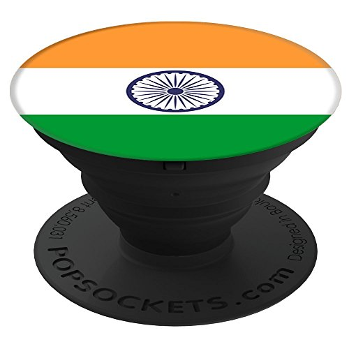 Flags of the World Apparel Co. India Flag PopSockets Stand for Smartphones and Tablets