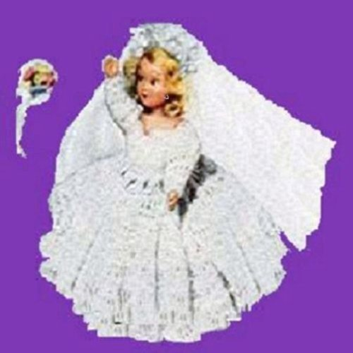- HERE COMES THE BRIDE DOLL ~ Downloadable Vintage 1951 Crochet Pattern ~ Text-to-Speech Enabled. Available for Download to Kindle DX, Kindle for PC, Mac, ... bride gift, shower gift, bridal shower)