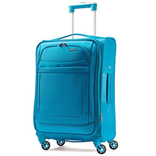 American Tourister Ilite Max Softside Spinner 29, Light Blue