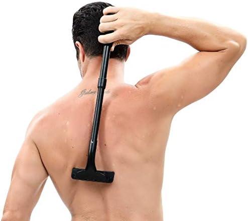 Espalda de afeitar para el pelo y cuerpo con mango ajustable de 50 ...