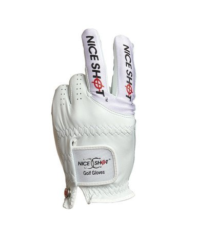 Nice Shot Golf Glove Long Bow (Large, Left)