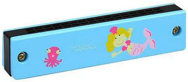 Gaoxingbianlidian001 - Armónica de 16 orificios para niños y niños de 2 a 9 años con varios diseños, un maravilloso juguete de regalo, c
