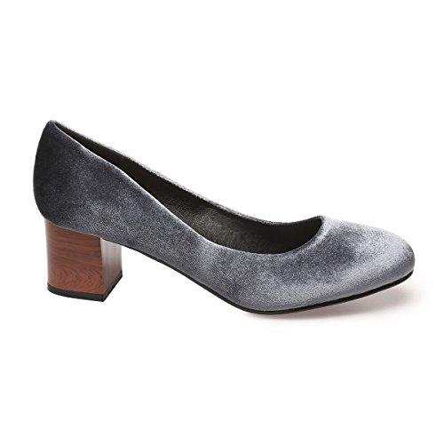 Zapatos De Modeuse Material La Gris Vestir Mujer Sintético gq5nT