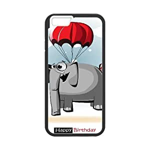 "elephant 2015 hot Phone Case For Apple Iphone 6,5.5"" screen Cases TPUKO-Q757662"