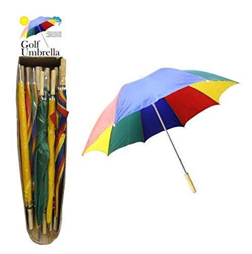 Multicolor Golf Umbrella