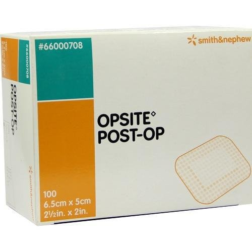 Opsite Post-Operative Dressing, 6.5 x 5 cm