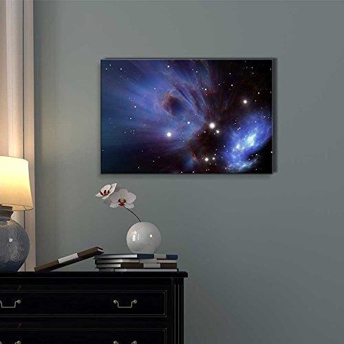 Space Nebula Beautiful Universe Outer Space Wall Decor ation