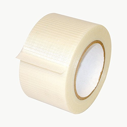 JVCC 762-BD Bi-Directional Filament Strapping Tape: 3 in. x 60 yds. (60 Yds Filament Tape)
