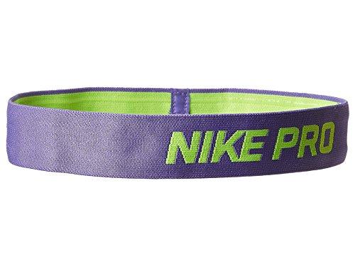 (Nike Pro Headband - Purple Haze/Volt)