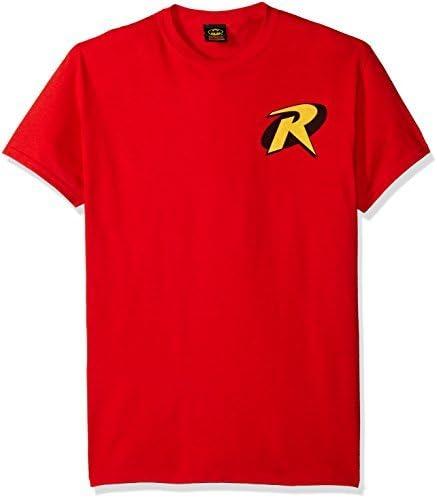 EU T-Shirt con Logo Batman e Robin Robin da Uomo