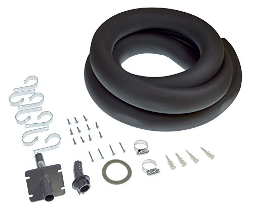 Includes hose Honeywell Kit containing parts to remotely install steam humidifier - Black and white 50024917-001//U 50024917-001-1