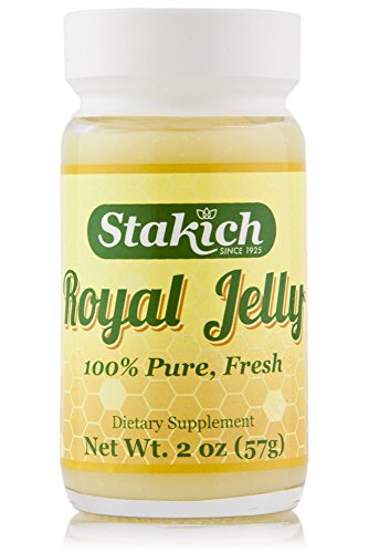 Stakich FRESH ROYAL JELLY 2-OZ - 100% Pure, All Natural, Top Quality - - Raw Royal Jelly