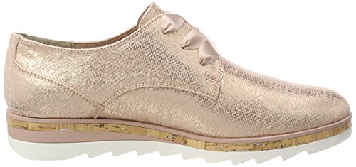 Rose Oxford para Rosa Metallic de Cordones Marco Tozzi 23716 Mujer Zapatos wXzqcPBF