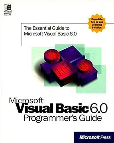 Mastering Visual Basic 6.0 Pdf