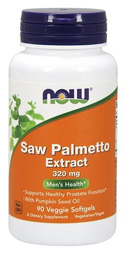 NOW Saw Palmetto 320mg, 90 Veg - Saw Women Palmetto