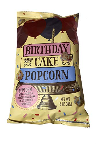 Trader Joe's Birthday Cake Popcorn 5 oz (2 ()