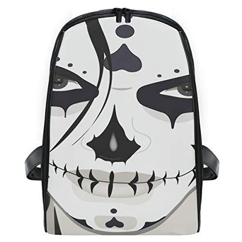 KEAKIA Halloween Guy Makeup Style School Bag Bookbags Children's Backpacks for Toddlers Kids Girls Boys Kindergarten Preschool