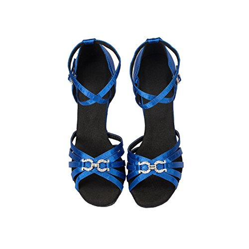 Minitoo ,  Damen Tanzschuhe , blau - blau - Größe: 36