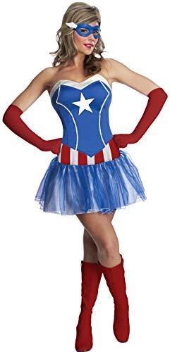 Secret Wishes Women's Marvel Universe American Dream