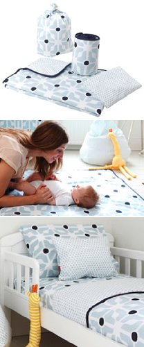 Poppet crib bedding set - Ella Crib Bedding Set
