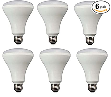 TCP Recessed Kitchen LED Light Bulbs, 65W Equivalent, Non Dimmable, Soft  White
