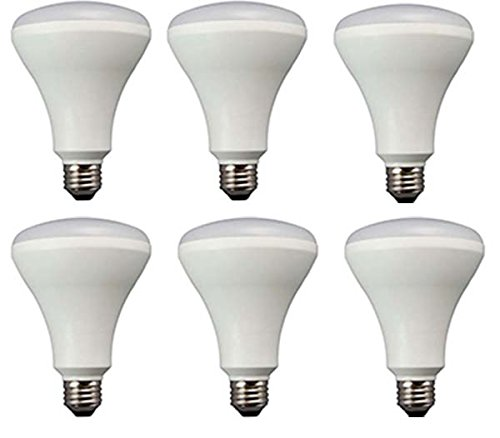 (TCP Recessed Kitchen LED Light Bulbs, 65W Equivalent, Non-Dimmable, Soft White (6 Pack) )