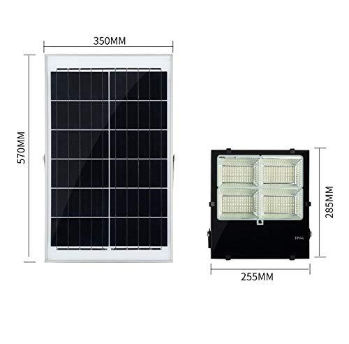 Q-fo Foco Proyector Solar Exteriores, Luz De Inundación ...