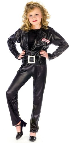 Grease Cool Sandy Child Costume - (Child Grease)