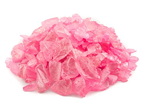 Nautical Crush Trading Pink Pearlized Sea Glass Chips |1 Pound for Decoration | Light Pink Colored Sea Glass for Craft TM