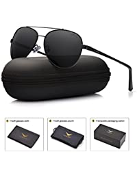 Mens Aviator Sunglasses Polarized : UV 400 Protection...