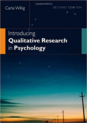 Book Introducing Qualitative Research in Psychology