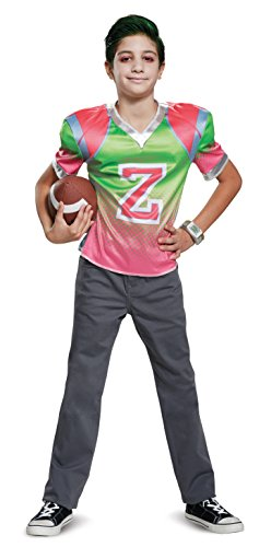 Disguise Zed Football Jersey Child Costume, Multi Color, X-Large/(14-16)]()
