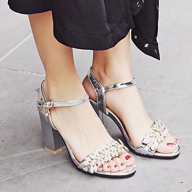 pwne Sandalias De Mujer Zapatos Formales Polipiel Primavera/Otoño Fiesta De Cumpleaños Fiesta De Verano/Noche Gracias Graduación Zapatos Formales Diarias De Negocios US9 / EU40 / UK7 / CN41