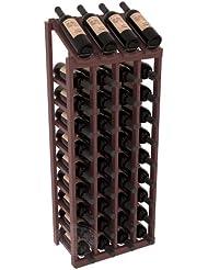 Wine Racks America Ponderosa Pine 4 Column 10 Row Display Top Kit 13 Stains To Choose From