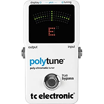 tc electronic polytune poly chromatic tru bypass pedal tuner musical instruments. Black Bedroom Furniture Sets. Home Design Ideas