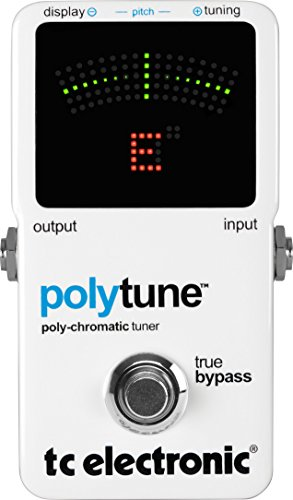 TC Electronic PolyTune Poly Chromatic Tru Bypass