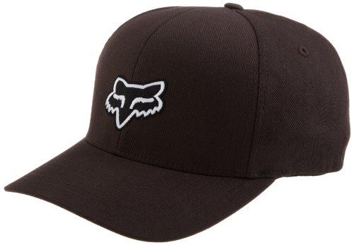 Fox Head Men's Legacy Flexfit Hat, Dark Brown, Small/Medium