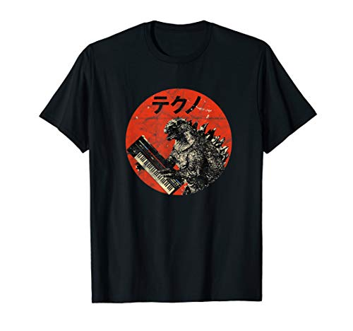 Synthesizer Analog Japanese Synth Monster Retro Gear Vintage T-Shirt